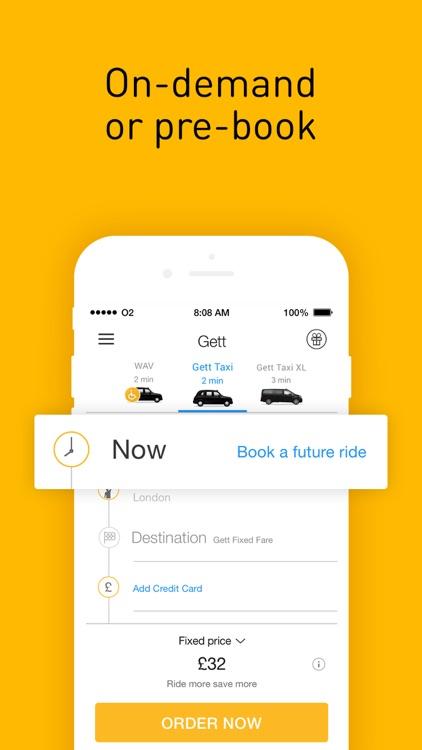 Gett - Car Service & Rideshare screenshot-3