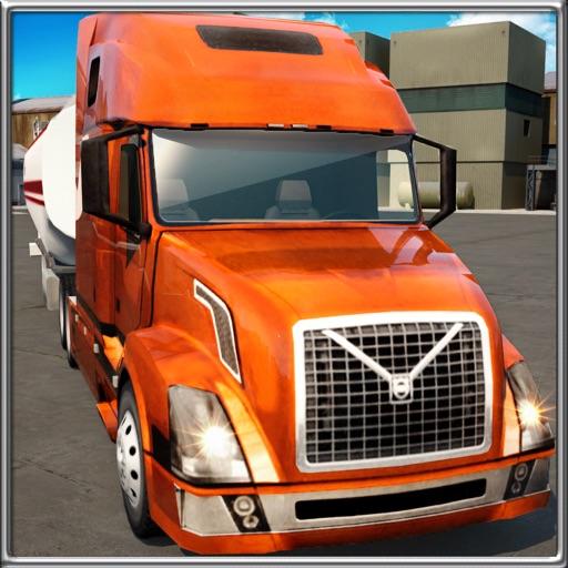 Trucker Parking 3D icon