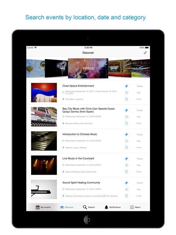 eventseeker - events, concerts & sports screenshot