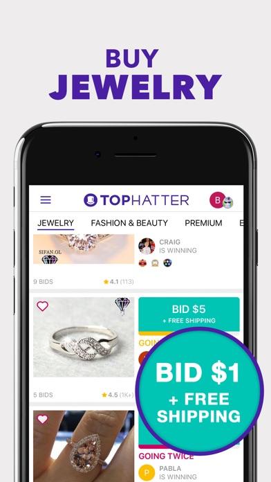 download Tophatter: Win Fun Discounts
