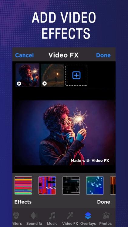 Video FX: Movie Maker & Editor by Chue Dave