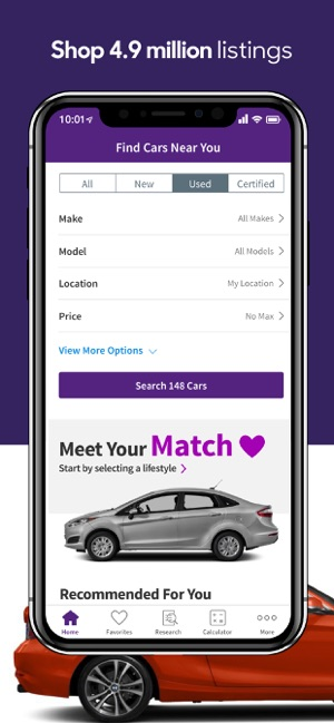 Cars Com New Used Cars On The App Store