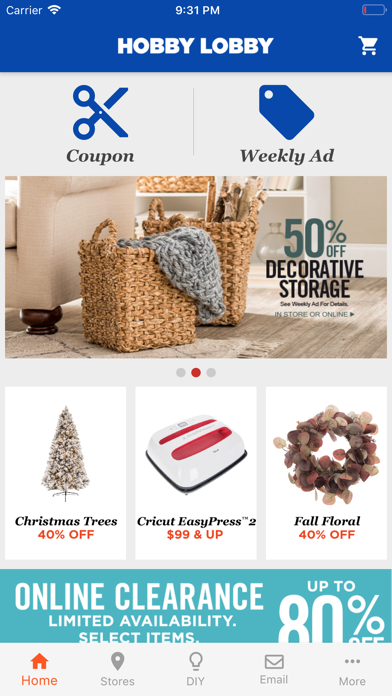 Screenshot for Hobby Lobby in United States App Store