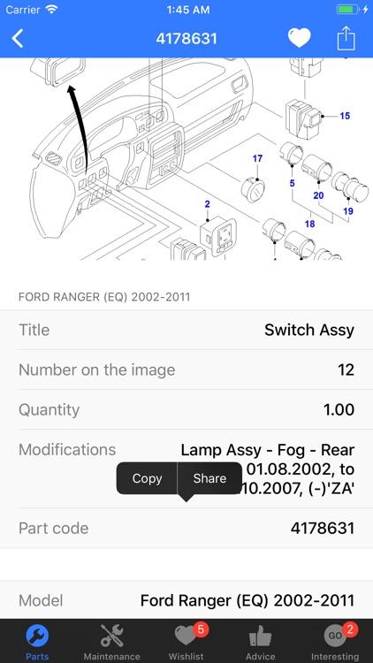 Ford Parts screenshot-7