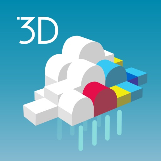 3D雨雲ウォッチ