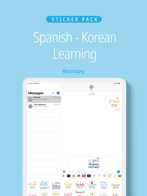 Spanish Korean learning screenshot 4