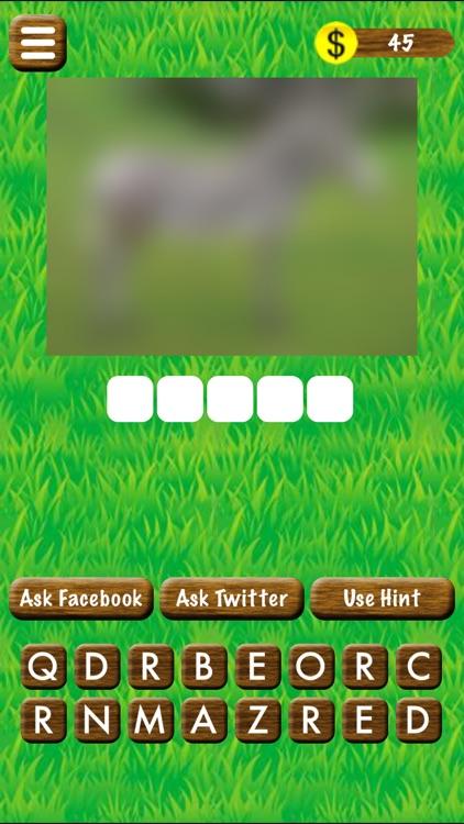 Name The Animal - Word Game
