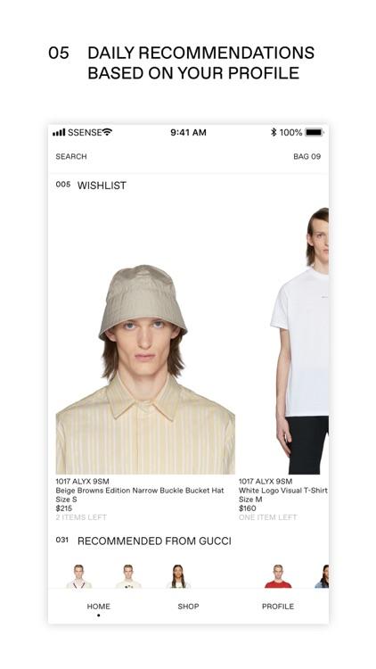 SSENSE: Shop Designer Fashion screenshot-4