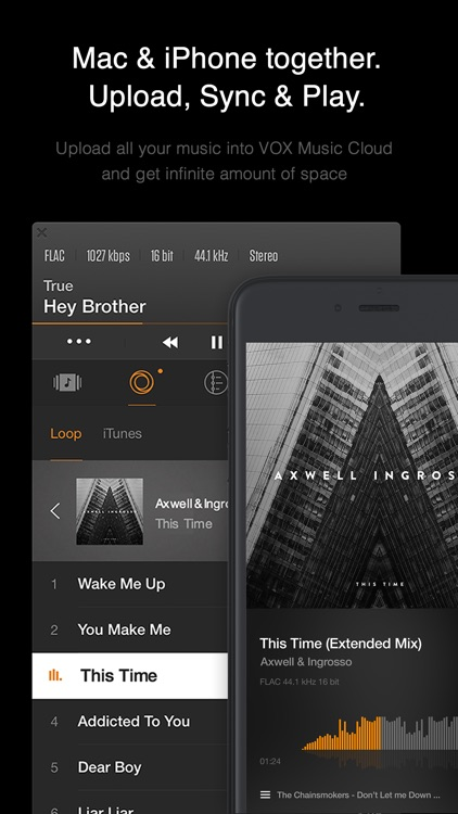 VOX – MP3 & FLAC Music Player screenshot-4