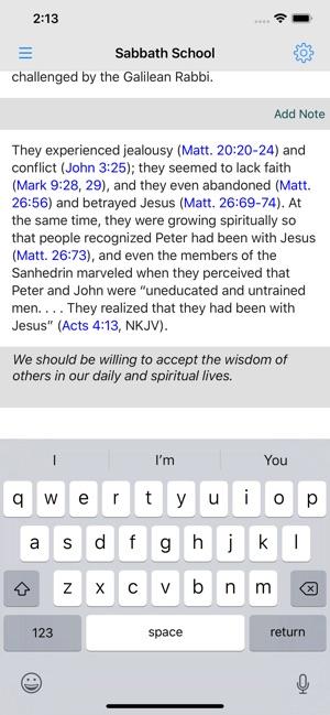 Sabbath School Quarterly App on the App Store
