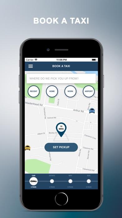 Aberdeen Taxis screenshot one
