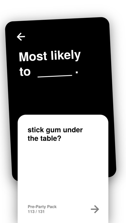 Most Likely To: Party Cards