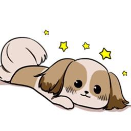 Shih Tzu Dog ShihMoji Sticker