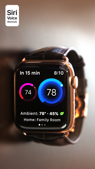 Thermo Watch for Nest & Ecobee Screenshots