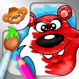 Tashi Coloring Games for Kids