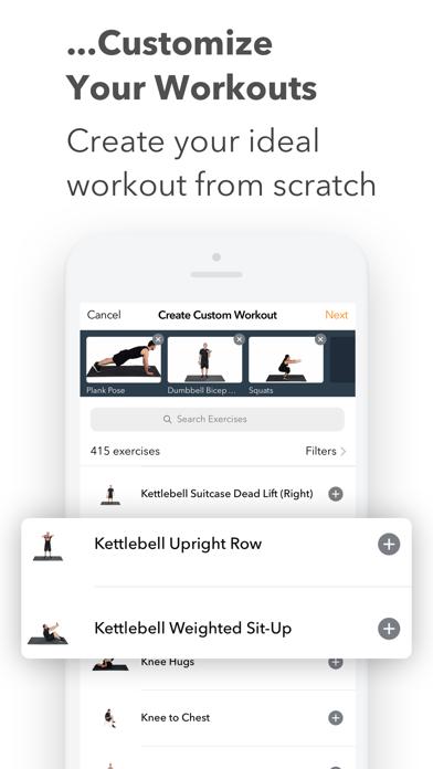 Sworkit Fitness & Workout App Screenshot