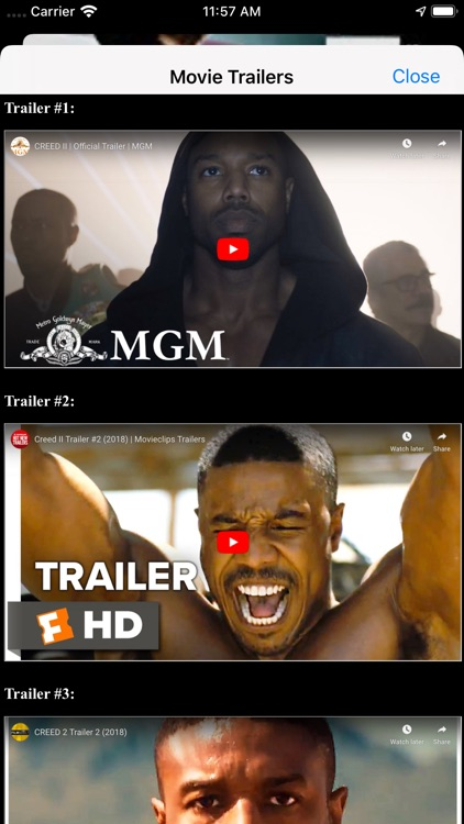 Movie Box & TV Show Showtime screenshot-4