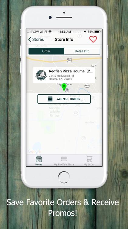 Redfish Pizza screenshot-3