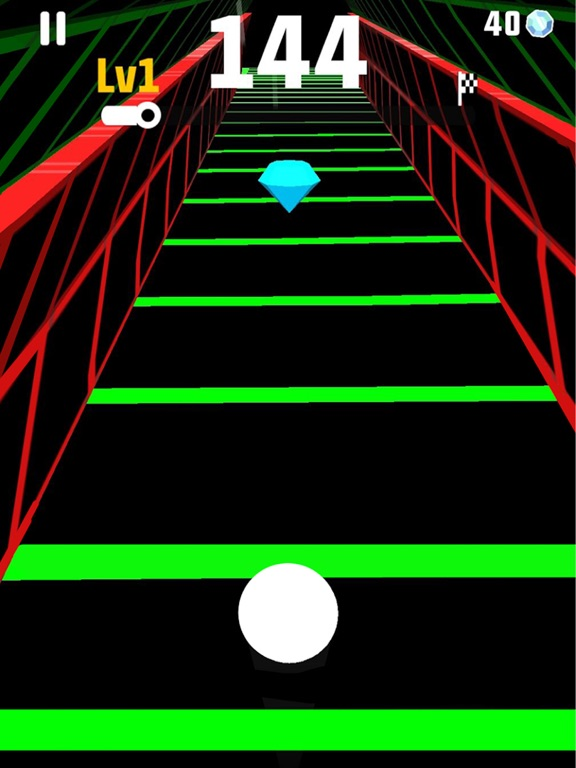 iPad Image of Slope Run Game