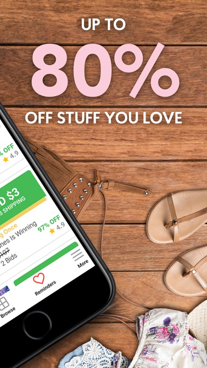 Klever: Live Shopping Auctions