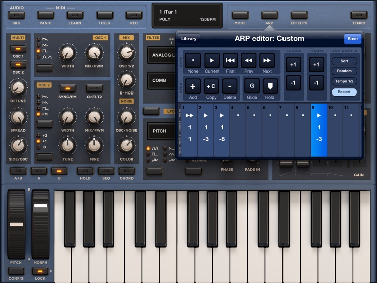 Sunrizer synth screenshot-3