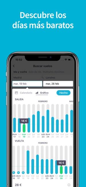 aadd12850b976 Skyscanner  Vuelos Baratos en App Store