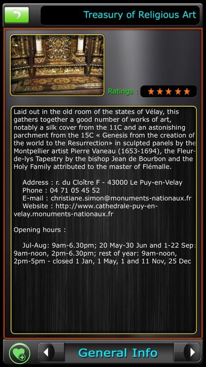 Le Puy-en-Velay Offline Guide screenshot-4