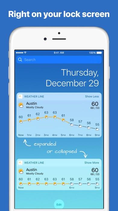 Weather Line screenshot 1
