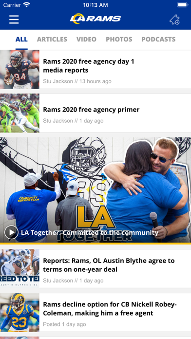 Los Angeles Rams screenshot two