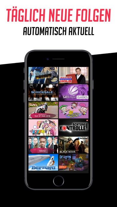 Herunterladen dailyme TV: Serien Filme Shows für Pc