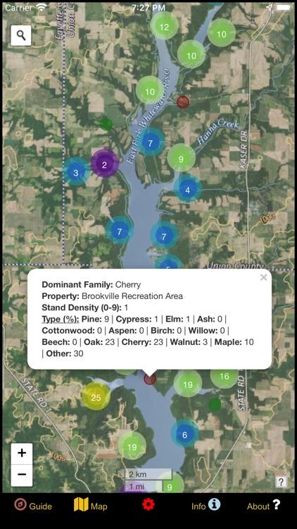 Indiana Mushroom Forager Map! screenshot-4