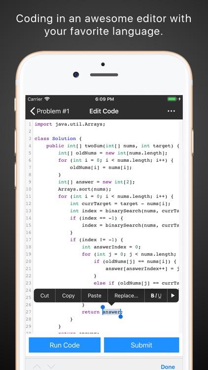 Leetcode Client