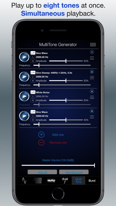 Audio Function Generator PRO Screenshots