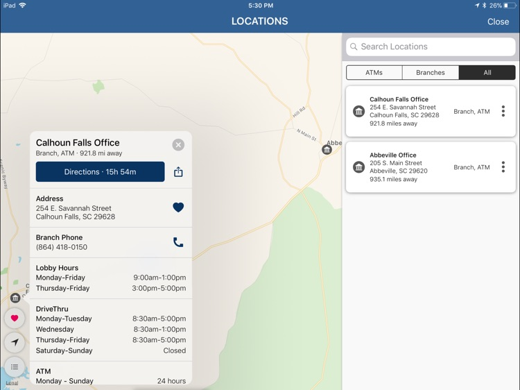 Abbeville First Bank for iPad screenshot-5