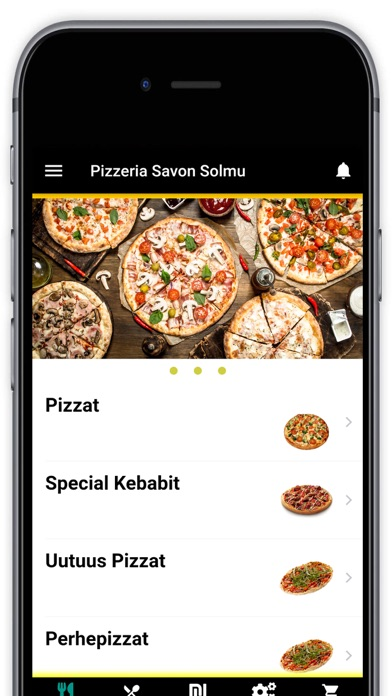 Pizzeria Savon Solmu Screenshot