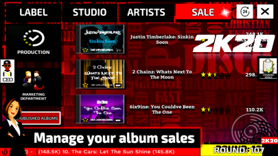 Music Label Manager 2K20 screenshot 4
