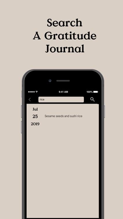 Presently: A Gratitude Journal screenshot-5