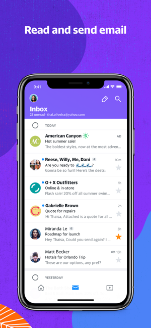 Yahoo News Mail Sports on the App Store