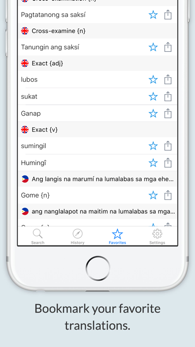 English Tagalog Dictionary + screenshot 2