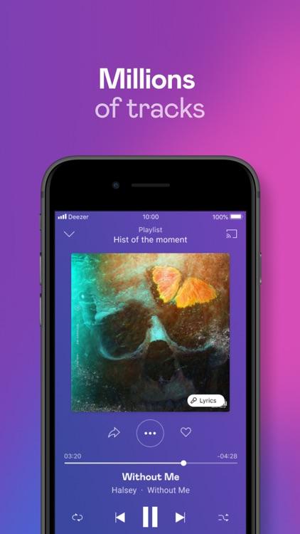 Deezer: Music & Podcast Player screenshot-0