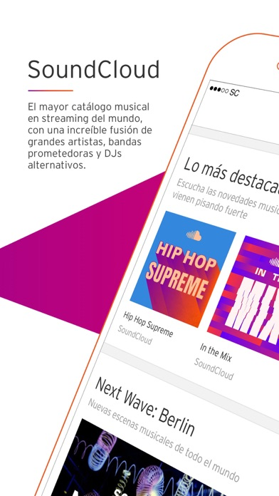 Screenshot for SoundCloud Música in Argentina App Store