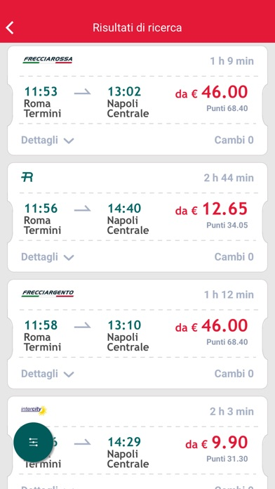 Screenshot for Trenitalia in Italy App Store