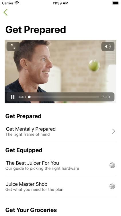 Jason Vale's 7-Day Juice Diet screenshot-3