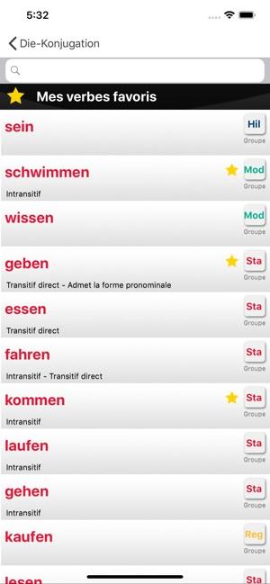La Conjugaison Allemande L Obs Dans L App Store