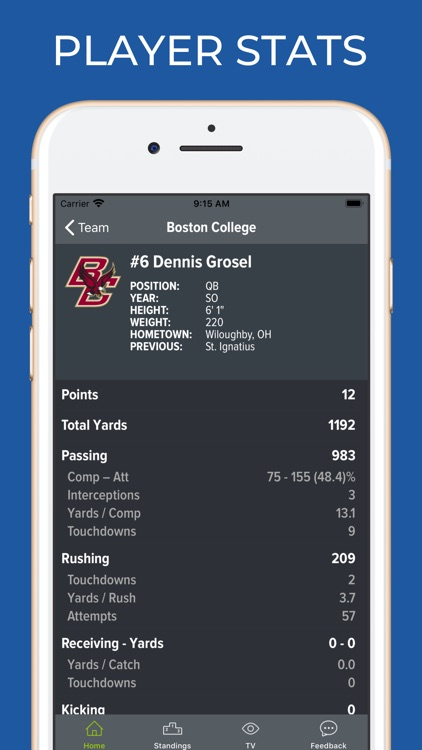 Boston College Football screenshot-3
