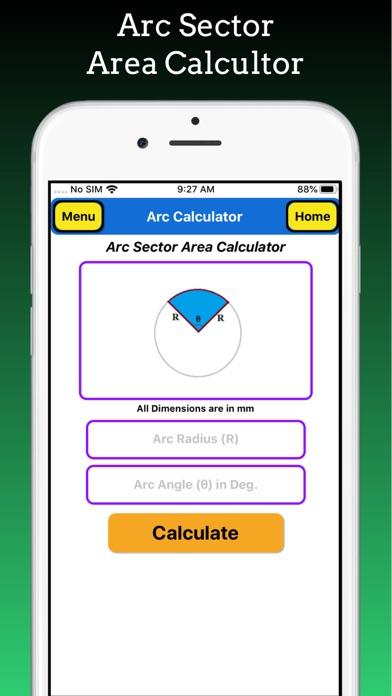 Arc Calculator Pro screenshot 5