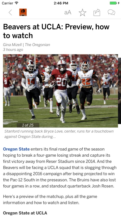 Beavers Football News