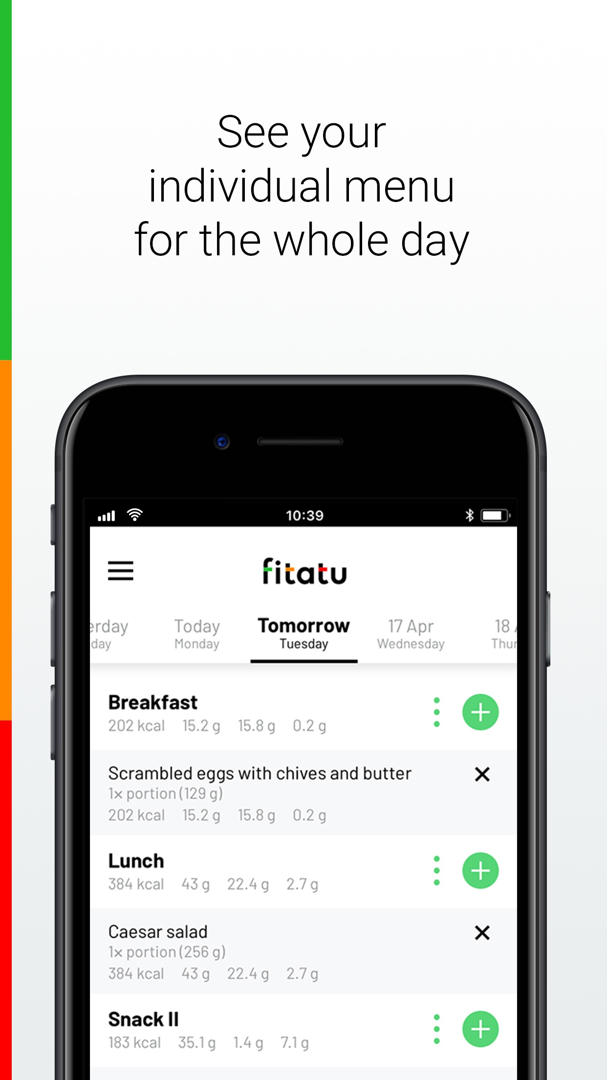 Fitatu Calorie Counter & Diet Screenshot