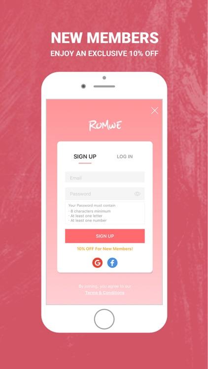 ROMWE - Fashion Store screenshot-5