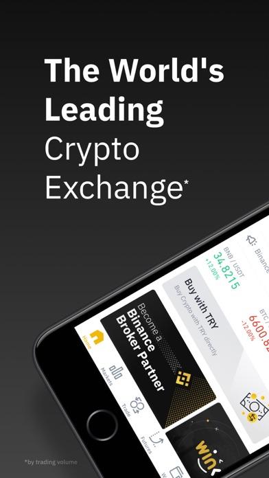 Screenshot #1 pour Binance - Crypto Trading App